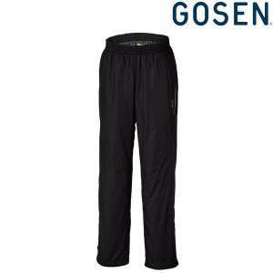 ゴーセン GOSEN テニスウェア ユニセックス ウィンドウォーマーパンツ 裏起毛  Y1810 2018FW|kpi24