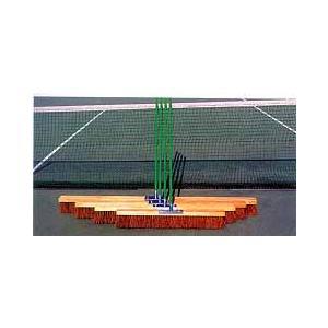 ブリヂストン BRIDGESTONE テニスコート用品 スタンダード型コートブラシ1個10-3831|kpi