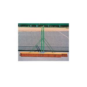 ブリヂストン BRIDGESTONE テニスコート用品 ローンサンド型コートブラシ1個10-3853|kpi