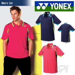「2017モデル」ヨネックス YONEX 「Uni ユニポロシャツ(スタンダードサイズ) 10153」テニス&バドミントンウェア「2016SS」|kpi