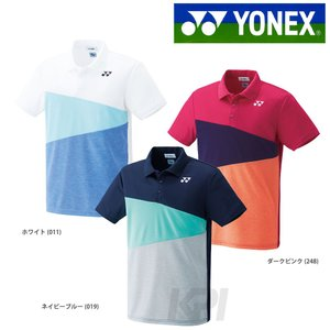 YONEX ヨネックス [ユニポロシャツ フィットスタイル  10165]テニスウェア「FW」『即日出荷』