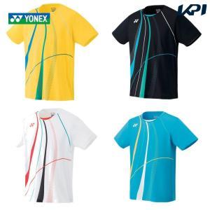 ヨネックス YONEX バドミントンウェア メンズ ゲームシャツ フィットスタイル  10291 2019FW [ポスト投函便対応]|kpi