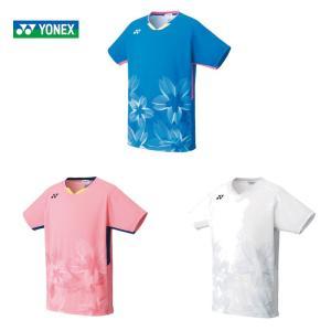 ポスト投函便「送料無料」ヨネックス YONEX バドミントンウェア メンズ ゲームシャツ フィットス...