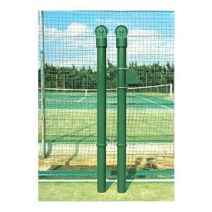ブリヂストン BRIDGESTONE テニスコート用品 スタンダード型テニスポスト(スチール)11-9516|kpi