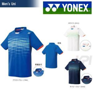テニスウェア バドミントン ウェア ユニセックス  ヨネックス YONEX ポロシャツ スタンダードサイズ 12111