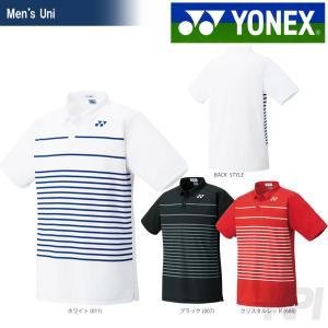 YONEX ヨネックス 「Uni ポロシャツ スタンダードサイズ  12121」ウェア「FW」『即日出荷』[ネコポス可]