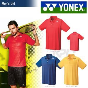 テニスウェア バドミントン ウェア ユニセックス  ヨネックス YONEX ポロシャツ スリムタイプ 12123 SS
