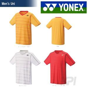 YONEX ヨネックス 「Uni ユニシャツ スリムタイプ  12124」テニス&バドミントンウェア「SS」『即日出荷』|kpi