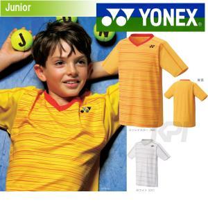YONEX ヨネックス 「JUNIOR ジュニアシャツ スリムタイプ  12124J」テニス&バドミントンウェア「SS」『即日出荷』 kpi