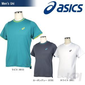 『即日出荷』「2017新製品」asics アシックス 「メンズ CLUB TOP HS ゲームシャツ 151349」テニスウェア「2017FW」|kpi