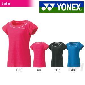 YONEX ヨネックス 「Ladies レディースTシャツ  16241」スポーツウェア「FW」  『即日出荷』|kpi
