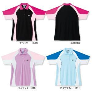 『即日出荷』 YONEX ヨネックス 「Ladie's レディースシャツ レギュラータイプ 20099」スポーツウェア kpi