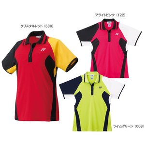 『即日出荷』YONEX ヨネックス ≪Ladie's レディースシャツ スリムロングタイプ  20232≫ゲームシャツ・パンツ〔テニスウェア〕「SS」 kpi