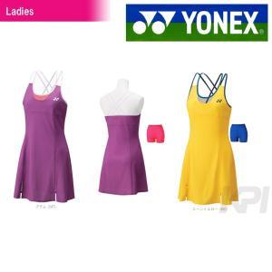 『即日出荷』 「2016新製品」YONEX ヨネックス 「Ladies ウィメンズワンピース インナースパッツ付  20283」テニス&バドミントンウェア「2016SS」|kpi