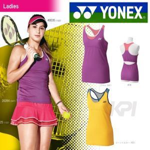 ヨネックス YONEX テニスウェア Ladies ウィメンズフィットタンクトップ 20284 即日出荷 2016SS kpi