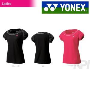 「2017モデル」ヨネックス YONEX 「Ladies ウィメンズシャツ(スリムロングフィットタイプ) 20285」テニス&バドミントンウェア「2016SS」「テニコレ掲載」|kpi