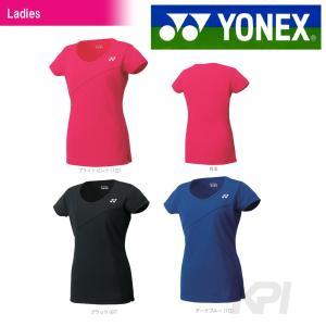 「2017モデル」ヨネックス YONEX 「Ladies ウィメンズシャツ(スリムロングフィットタイプ) 20290」テニス&バドミントンウェア「2016SS」|kpi