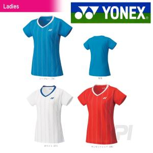 YONEX ヨネックス 「Ladies レディースシャツ スリムロングフィットタイプ  20303」テニス&バドミントンウェア「SS」『即日出荷』|kpi