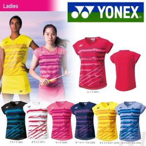 YONEX ヨネックス 「WOMEN レディース フィットシャツ 20349」ウェア「SS」『即日出荷』