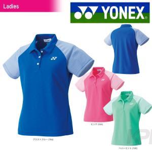 「均一セール」YONEX ヨネックス 「WOMEN レディース ポロシャツ 20354」ウェア「FW」 『即日出荷』[ポスト投函便対応]|kpi