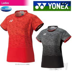 バドミントン ウェア レディース ヨネックス YONEX フィットシャツ 20386 2017FW 2017新製品