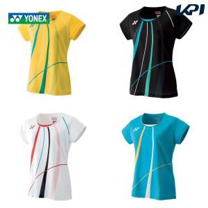 ヨネックス YONEX バドミントンウェア レディース ゲームシャツ 20473 2019FW [ポスト投函便対応]|kpi