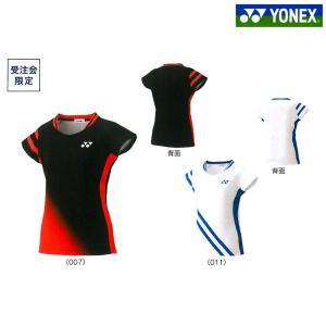 ヨネックス YONEX バドミントンウェア レディース ゲームシャツ 数量限定モデル 20504Y 2019SS 『即日出荷』[ポスト投函便対応]|kpi