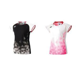 ヨネックス YONEX バドミントンウェア レディース ゲームシャツ フィットシャツ  20535 2019FW 10月中旬入荷予定※予約 [ポスト投函便対応]|kpi