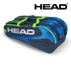 ヘッド HEAD テニスバッグ・ケース  Elite 9R Supercombi 283438-BLGE|kpi