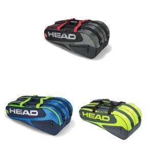 ヘッド HEAD テニスバッグ・ケース  Elite 9R Supercombi エリート 9R スーパーコンビ ラケットバッグ 9本入 283729|kpi