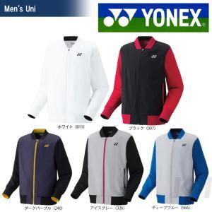YONEX ヨネックス 「UNI ニットウォームアップシャツ フィットスタイル  50060」テニス&バドミントンウェア「SS」 『即日出荷』