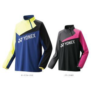 テニスウェア バドミントン ウェア ユニセックス  ヨネックス YONEX トレーニングトップ 51011 FW