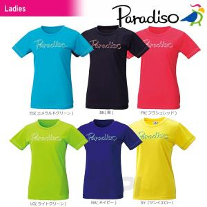 PARADISO パラディーゾ  「レディース プラクティスシャツ 55CL1A」 テニスウェア[ポスト投函便対応]|kpi