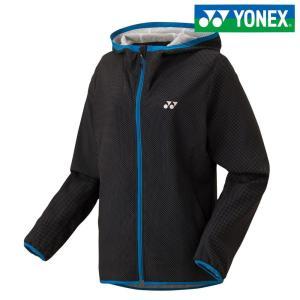 ヨネックス YONEX テニスウェア レディース 裏地付きウォームアップパーカー/フィットスタイル 57035-007 「SS」 『即日出荷』