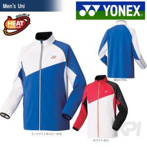 YONEX ヨネックス 「Uni 裏地付ウィンドウォーマーシャツ フルモーション3D 70047」ウェア「FW」『即日出荷』