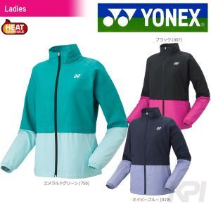 YONEX ヨネックス 「Ladies レディース 裏地付ウインドウォーマーシャツ 78048」バドミントンウェア「FW」 『即日出荷』