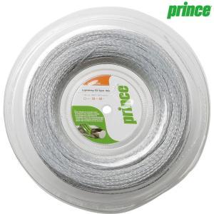 プリンス Prince テニスガット・ストリング  LIGHTNING XX SPIN 16  ライトニングXXスピン16  200mロール 7J850|kpi