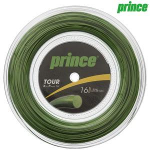 プリンス Prince テニスガット・ストリング  TOUR XP 16  ツアーXP16  200mロール 7J931|kpi