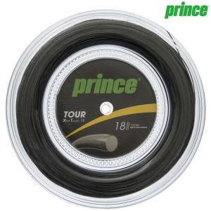 プリンス Prince テニスガット・ストリング  TOUR XT 18  ツアーXT18  200mロール 7J933|kpi
