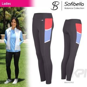 テニスウェア レディース ソフィベラ Sofibella Balance Collection バランスコレクション Legging BA1440 SS|kpi