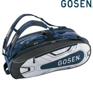 ゴーセン GOSEN テニスバッグ・ケース ユニセックス ラケットバッグPro4 BA18PR4G-17|kpi