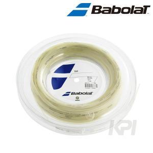 『即日出荷』「2017新製品」BabolaT バボラ 「Xcel エクセル 125/130 200mロール BA243110」硬式テニスストリング ガット|kpi