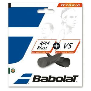 Babolat バボラ 「RPMブラスト+VS BA281034」硬式テニスストリング ガット [ポ...