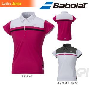 Babolat バボラ 「Women's レディース ジュニアショートスリーブシャツ BAB-1693WJ」テニスウェア「2016FW」 kpi
