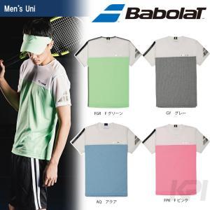 「均一セール」『即日出荷』Babolat バボラ 「Unisex ショートスリーブシャツ BAB-1703」テニスウェア「FW」  [ポスト投函便対応]|kpi