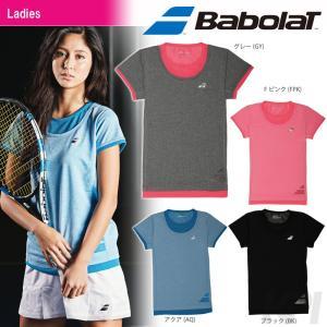 『即日出荷』Babolat バボラ 「Women's レディース ショートスリーブシャツ BAB-1732W」テニスウェア「2017SS」|kpi
