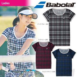 「2017新製品」Babolat バボラ 「Women's レディース ショートスリーブシャツ BAB-1738W」テニスウェア「2017SS」『即日出荷』|kpi