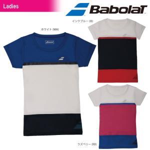 「2017新製品」Babolat バボラ 「Women's レディース ショートスリーブシャツ BAB-1740W」テニスウェア「2017SS」『即日出荷』|kpi
