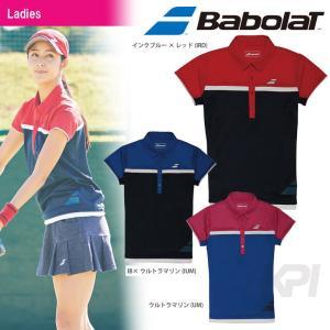 「均一セール」『即日出荷』Babolat バボラ 「Women's レディース ショートスリーブシャツ BAB-1741W」テニスウェア「FW」  [ポスト投函便対応]|kpi