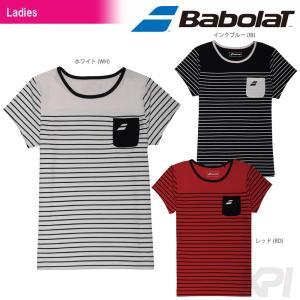 『即日出荷』Babolat バボラ 「Women's レディース ショートスリーブシャツ BAB-1745W」テニスウェア「2017SS」|kpi